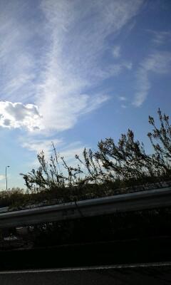 空、雲、風