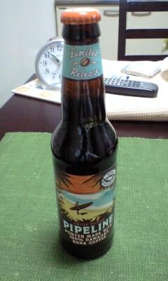 パイプラインボーダーというコナコーヒー入りビール
