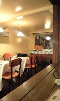 日曜日のカフェ